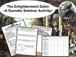 Enlightenment Salon A Socratic Seminar Activity By