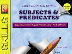 Subjects & Predicates: Skill Booster Series