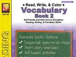 Read, Write, & Color: Vocabulary 2