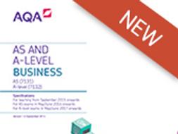 AQA A Level Business - 3.10 Managing strategic change - assessment