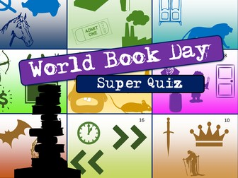 World Book Day Quiz