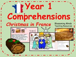 Christmas in France Comprehensions - Year 1