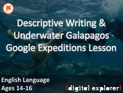 Descriptive Writing #GoogleExpeditions Lesson