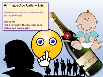An Inspector Calls Lessons 9 - 16