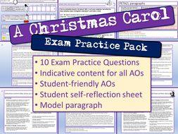 A Christmas Carol Exam Practice Questions