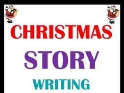 Christmas Story Writing - Christmas Writing Activity