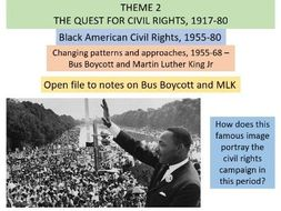 In Search of the American Dream - Unit 2 The Quest for Civil Rights - Edexcel A Level History