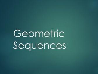 Geometric Sequences Lesson