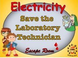 Current Electricity KS3 - Save the Technician Escape Room