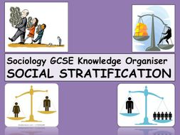 Social Stratification Knowledge Organiser Sociology GCSE