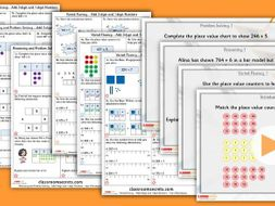 Year 3 Add 3-digit and 1-digit Numbers Autumn Block 2 Step 3 Maths Lesson Pack