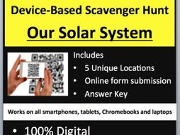 Our Solar System - Device-Based Scavenger Hunt Activity - Let the Hunt begin!