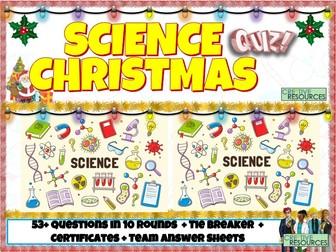 KS3 Science Christmas Quiz 2020