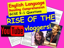 Reading Comprehension - Vloggers