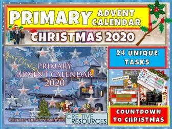Primary Advent Calendar 2020