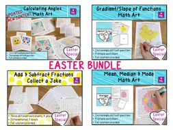 Easter Math Activities Pack