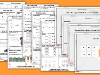 Year 2 The 10 Times Table Autumn Block 4 Step 9 Lesson Pack