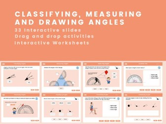 Classifying Measuring and Drawing Angles