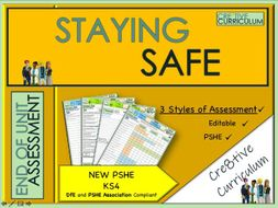 Staying Safe - PSHE Assessment