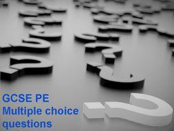 GCSE PE Multiple choice questions