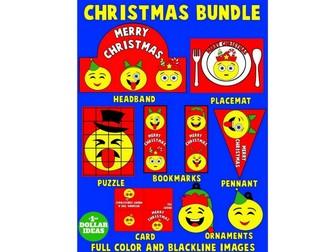 CHRISTMAS BUNDLE   CHRISTMAS CRAFTS FOR KIDS