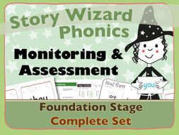 Complete Phonics Monitoring Assessment Tracking Foundation Stage