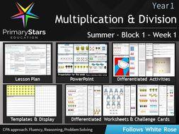 Year-1---Multiplication---Division---Week-1.zip