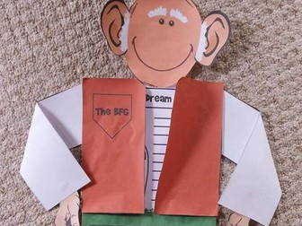 The BFG writing craft for Roahl Dahl Day
