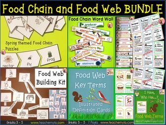 Food Chain and Food Web Bundle