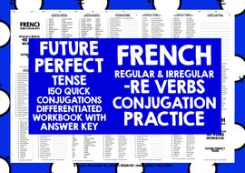FRENCH--RE-VERBS-FUTURE-PERFECT-TENSE.zip