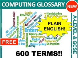 Computing Glossary (GCSE & A-Level)
