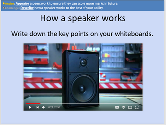 GCSE OCR Physics: Speakers and Microphones