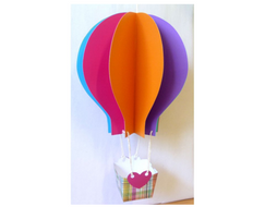 New Class Hot Air Balloon - All About Me