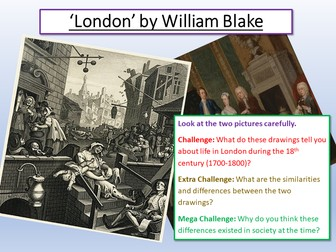 London - William Blake - Power and Conflict