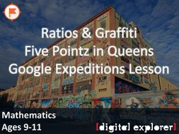 Ratios & Graffiti #GoogleExpeditions Lesson
