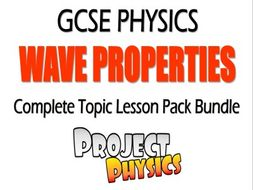 Wave Properties GCSE Physics Topic Bundle