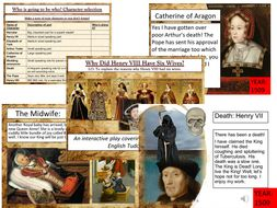 Henry VIII and his Six Wives: Interactive Role Play Lesson