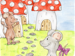Meg the Mouse, Hannah's Phonics Stories, ou sound