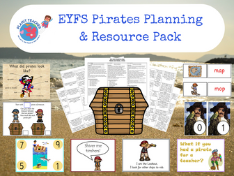 Pirates - EYFS Planning and Resource Pack