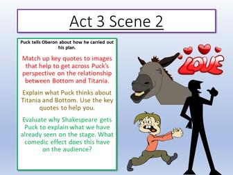 A Midsummer Night's Dream - Act 3 Scene 2