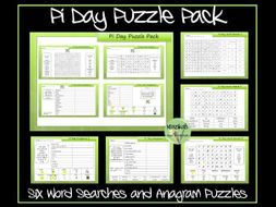 Pi Day Puzzle Pack