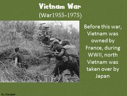 IGCSE History powerpoint on Vietnam War
