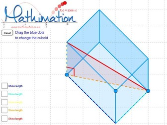 3D Pythagoras Visualisation