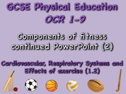 GCSE OCR PE (1.2) Physical Training