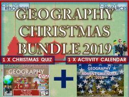Geography Christmas Quiz Advent Calendar 2019