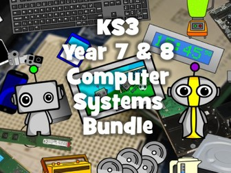 KS3 Computer Systems Bundle