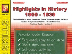 Highlights in History: 1900-1939