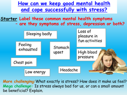Mental Health - Stress
