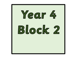 Year 4 - Block 2- Addition and  Sheets