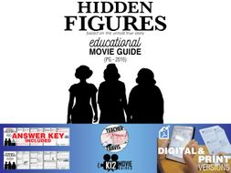 Hidden Figures Movie Guide Questions Worksheet Pg 2016 By